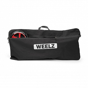 Самокат Weelz Rock NEW Black/Red